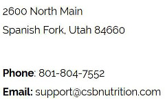 csb-nutrition-phone-address-email